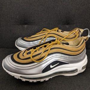 Nike Air Max 97 SE Limited Metallic Gold W8.5